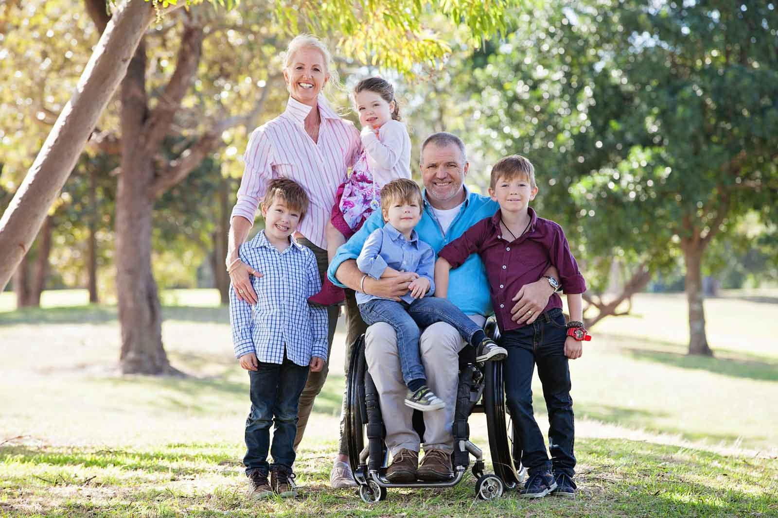 family who've enliosted a good NDIS support coordinator