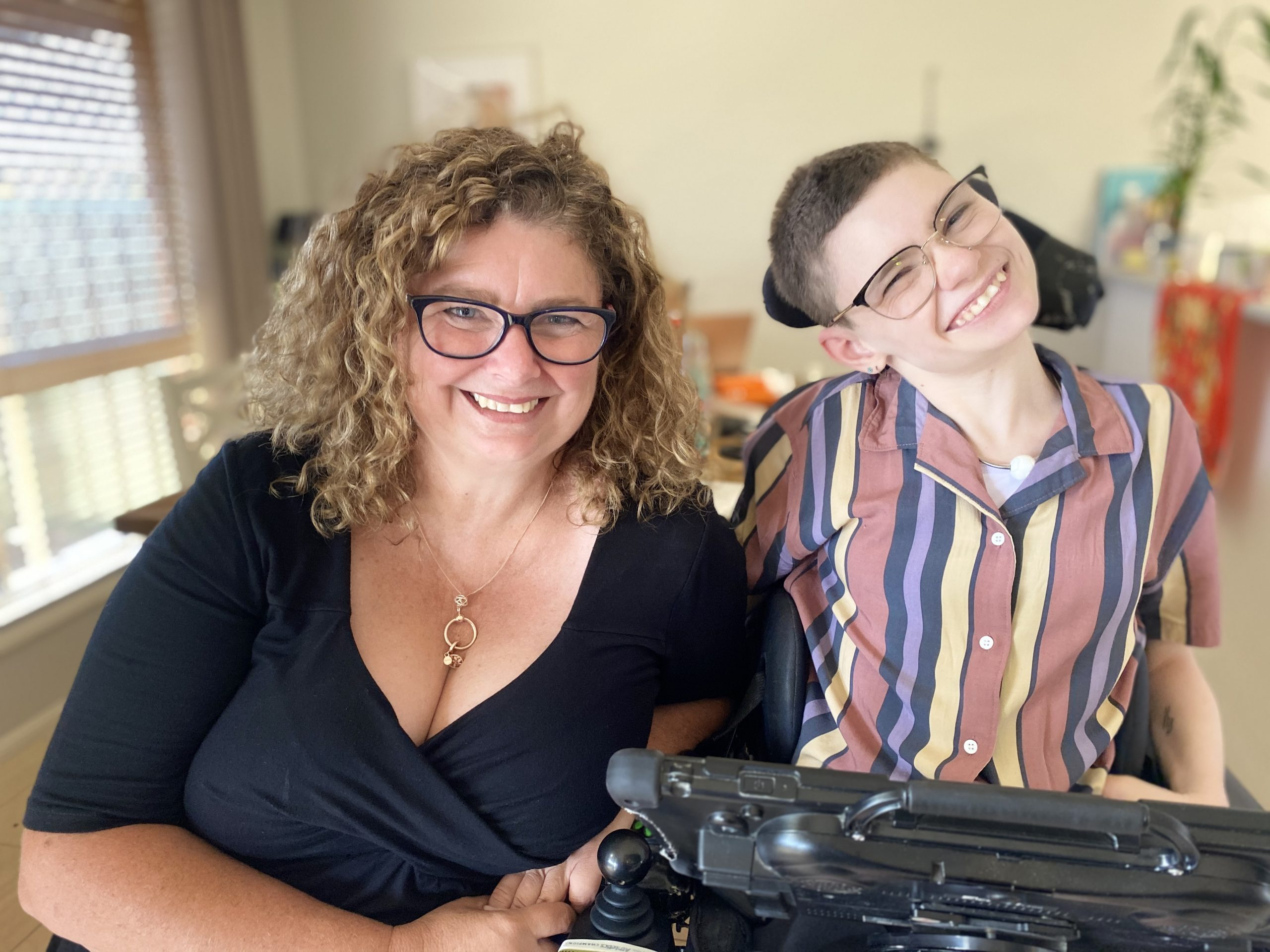 Siobhan is dealing with COVID-19 as an NDIS participant