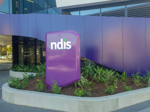 you can request an early ndis plan review at the HQ, pictured here