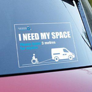 Blue Badge Insurance Australia Bumper Sticker