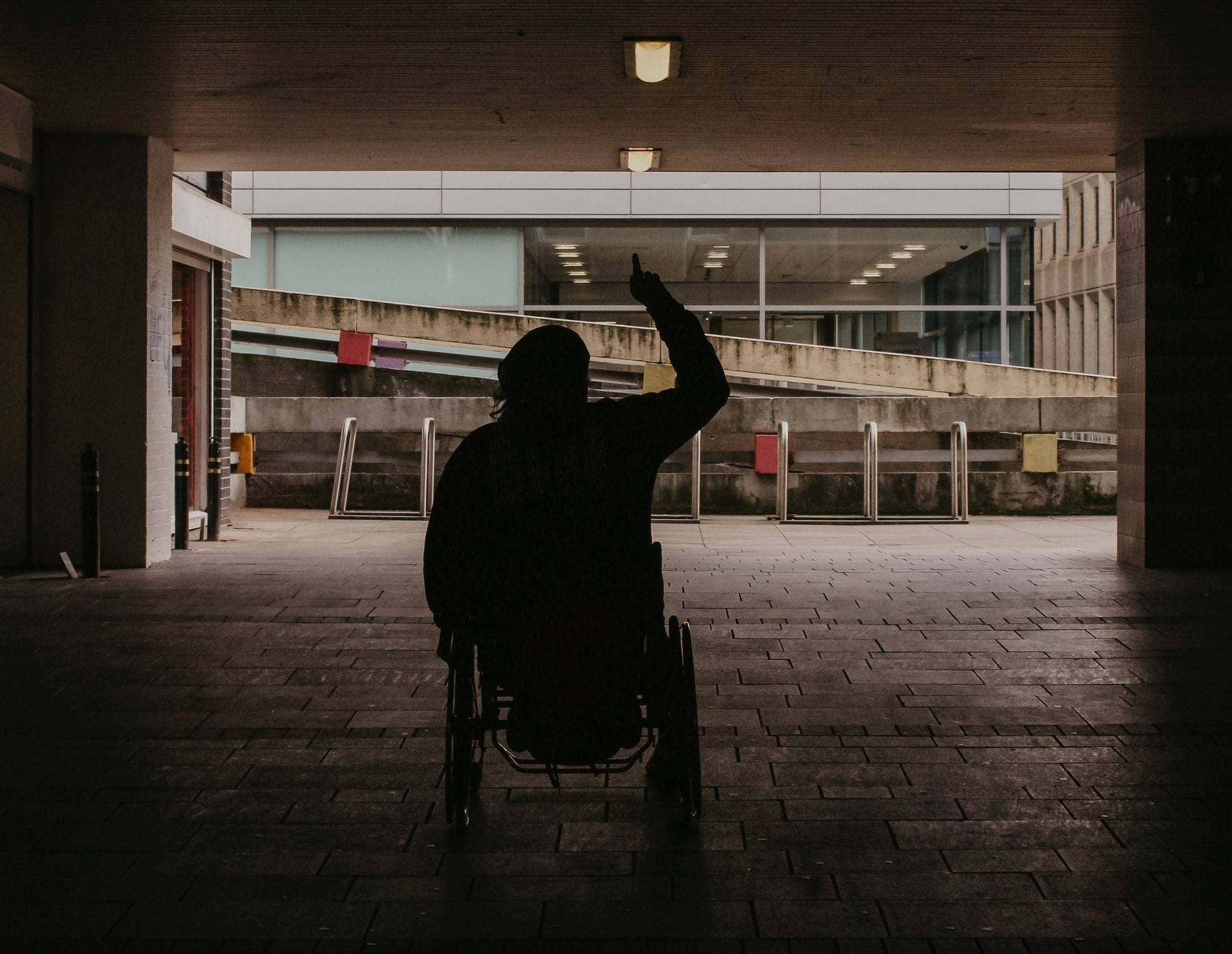 People in wheelchairs are underrepresented in the media.