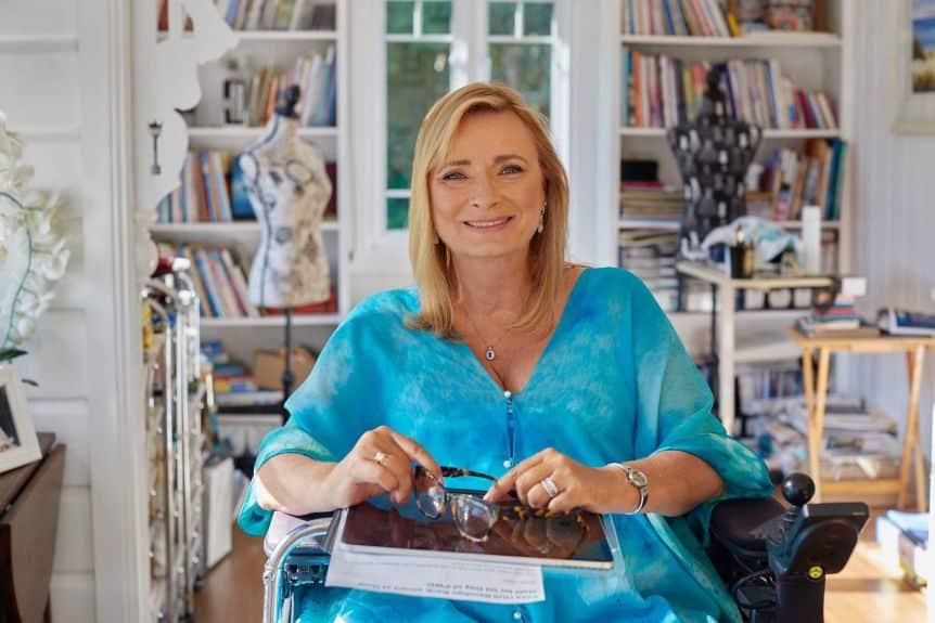 Carol Taylor creates accessible art despite being paraplegic.